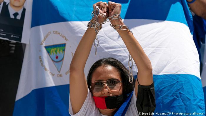 Nicaragua Protest Freilassung politische Gefangene