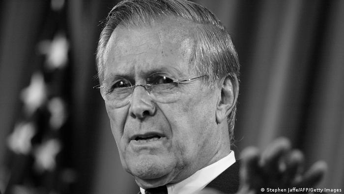 USA Ex- Verteigungsminister Donald Rumsfeld
