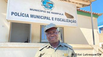 Oliveira Maneque, comandante da Polícia Municipal da cidade de Nampula