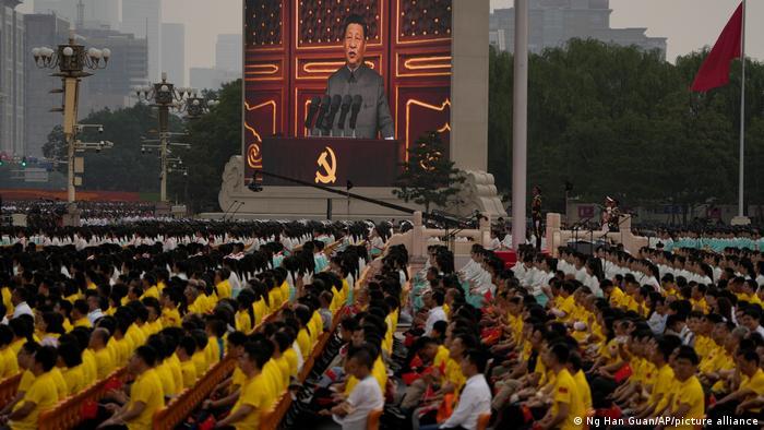 China I Amsprache Präsident Xi Jinping