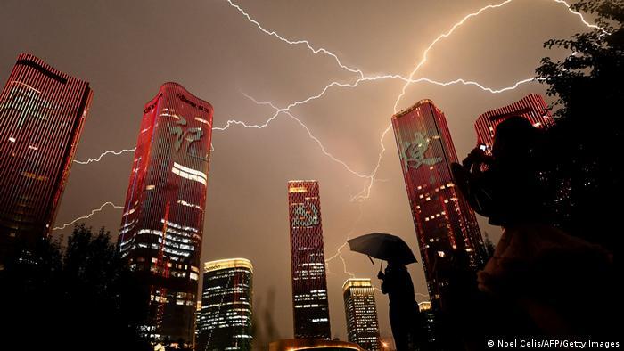 BdTD China | Gewitter über Peking