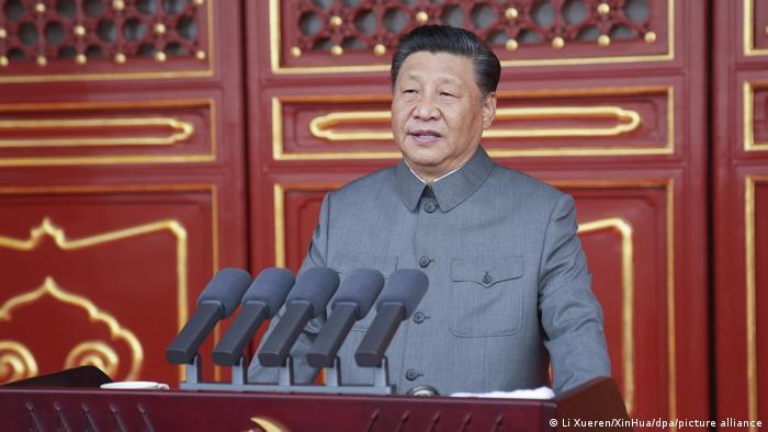 China 100. Jahrestag der Kommunistischen Partei