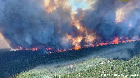 Wildfires in Canada