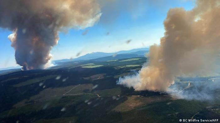 Невижданите жеги в Канада предизвикаха обширни пожари