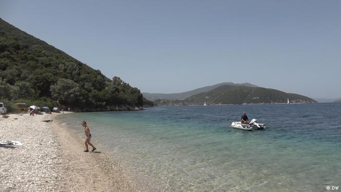 Griechenland Tourismus   Insel Lefkada  