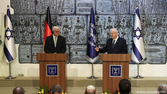 Njemački predsjednik Frank-Walter Steinmeier i izraelski predsjednik Reuven Rivlin