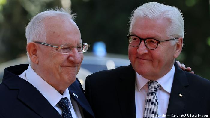 Predsjednik Izraela Reuven Rivlin (l) i predsjednik Steinmeier