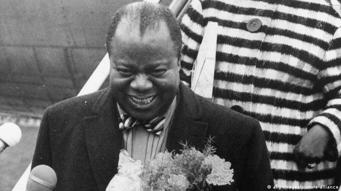 Louis Armstrong en Berlín en 1965.
