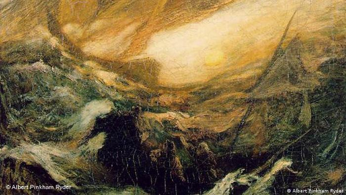 The Flying Dutchman (c. 1896), by Albert Pinkham Ryder. (Albert Pinkham Ryder)
