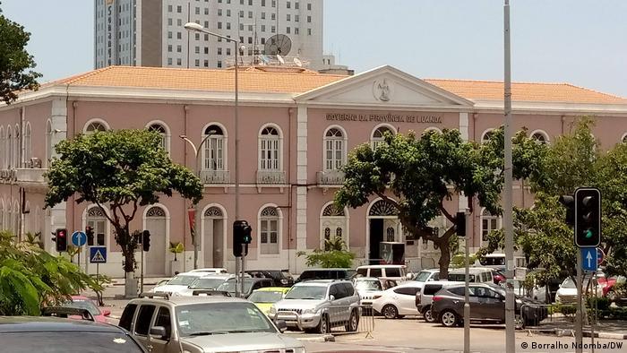 Angola Luanda Palast der Provinzregierung Luanda