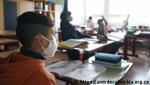 Zurück zur Schule in Lateinamerika Unterricht in Corona.