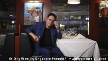 Robert Kiyosaki, author of Rich Dad Poor Dad. (Singapore Press via AP Images)