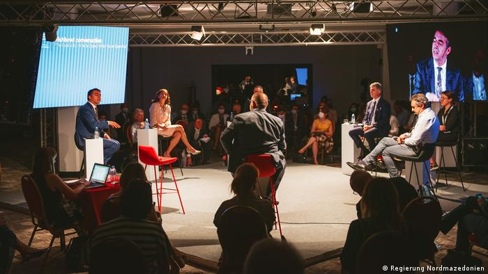 Nord-Mazedonien Prespa Forum Dialog Ohrid