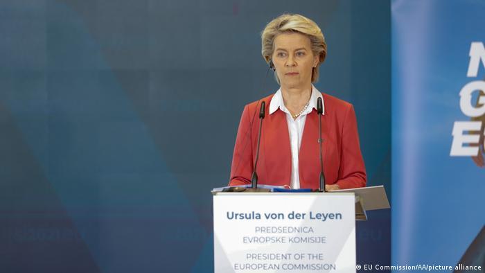 Szefowa Komisji Europejskiej Ursula von der Leyen