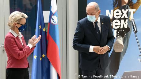Slovenian Prime Minister Janez Jansa on the defensive