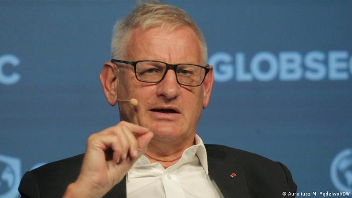 Szwedzki polityk i dyplomata Carl Bildt