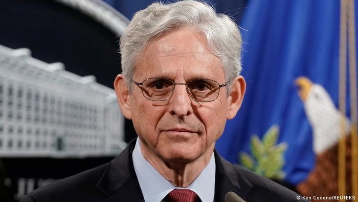 USA Washington   Justizminister Merrick Garland