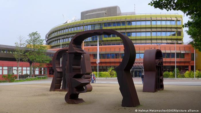 ZDF Sendebetriebsgebäude Sendezentrum in Mainz