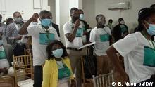 Luanda, Angola, 02. Juli 2021+++Parteitag von Bloco Democrático. Copyright: B. Ndomba/DW