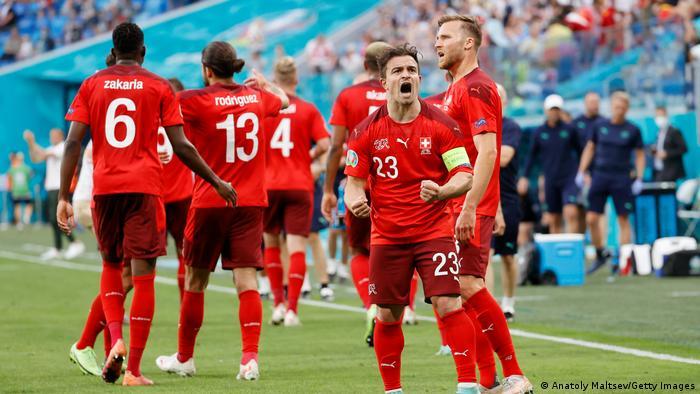 Euro 2020 Viertelfinale Spanien - Schweiz