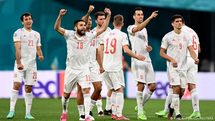 Euro 2020 Viertelfinale Spanien - Schweiz Elfmeterschießen