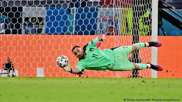 Euro 2020 Viertelfinale Italien vs Belgien Donnarumma