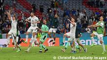 Euro 2020 Viertelfinale Italien vs Belgien Jubel