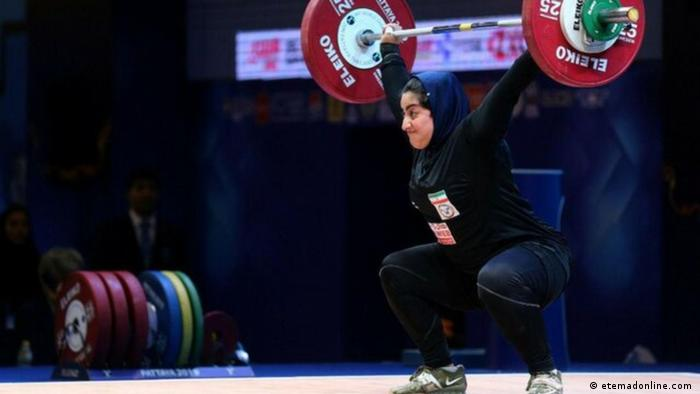 راهیابی نخستین زن وزنهبردار ایرانی به المپیک و احتمال انصراف از سهمیه