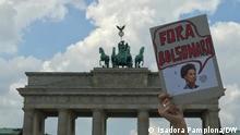Demo in Berlin gegen den brasilianischen Präsident Jair Bolsonaro.