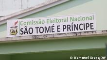 Titel: Campanha eleitoral em São Tomé e Príncipe. Beschreibung: Neunzehn Kandidaten treten bei der fünften Präsidentschaftswahl in São Tomé und Príncipe an Ort: São Tomé e Príncipe Datum: 03.07.2021 Autor: Ramusel Graça -- via Amos Zacarias