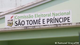 Campanha eleitoral em São Tomé e Príncipe