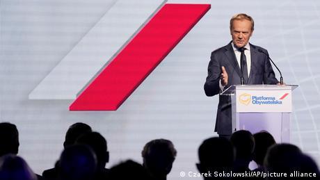 <div>Donald Tusk returns to Poland's political fray</div>