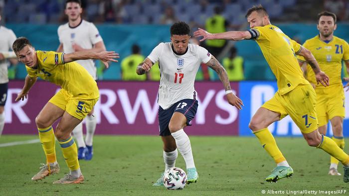 Jadon Sancho against Ukraine