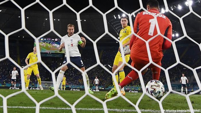 گل سوم انگلیس مقابل اوکراین از زاویهای دیگر.