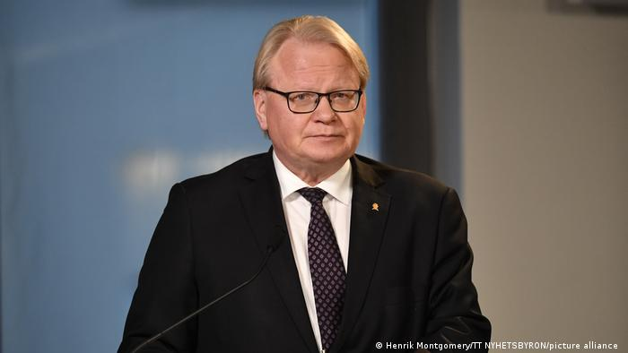 Verteidigungsminister Peter Hultqvist