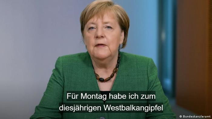 Screenshot Podcast | Bundeskanzlerin Merkel aktuell