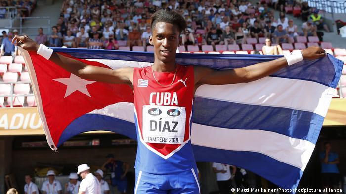 IAAF World U20 | Dreisprung der Männer | Jordan A. Diaz aus Kuba
