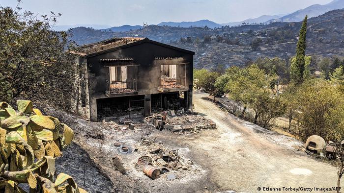 Zypern Waldbrände