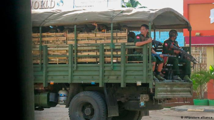 Myanmar I Gefechte