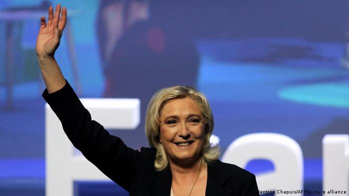 Frankreich I Parteitag des Rassemblement National (RN) in Perpignan I Marine Le Pen