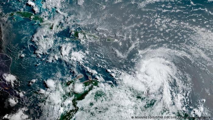 Karibik Tropensturm Elsa