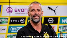 Vorstellung von Marco Rose bei Borussia Dortmund am 01.07.2021 im Marco Rose ( Trainer / Cheftrainer Dortmund ) Foto: Borussia Dortmund via REVIERFOTO