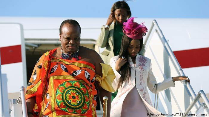 Russland Sotschi | König Mswati III von Eswatini