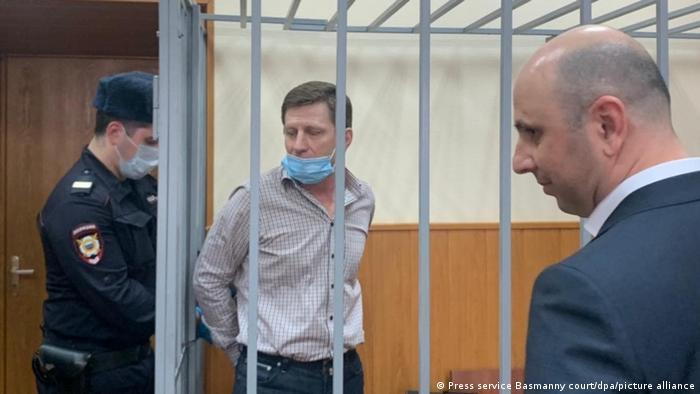 Отца Антона Фургала - экс-губернатора Хабаровского края Сергея Фургала судятт по делу, которое он считает политическим