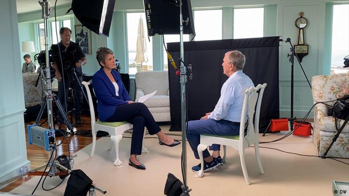 George W. Bush in a DW Interview with Ines Pohl