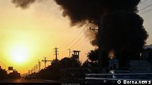 Feuer in Teheran am 05. Juli 2021. Großbrand in Hauptstadt Iran. Lizenz: frei Qulle: Borna.news