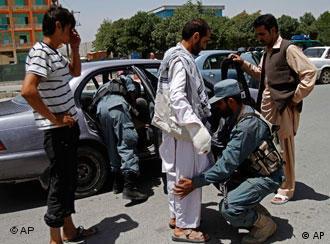 تدابیر شدید امنیتی در کابل گرفته شده است