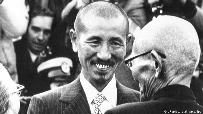 Japanischer Soldat Hiroo Onoda