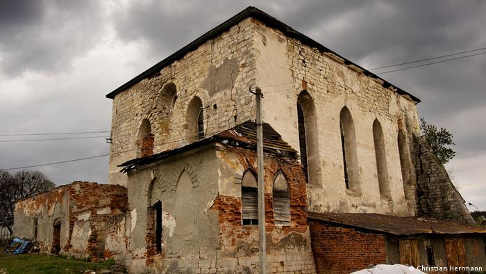 Будівля синагоги у Підгайцях Тернопільської області, XVII сторіччя