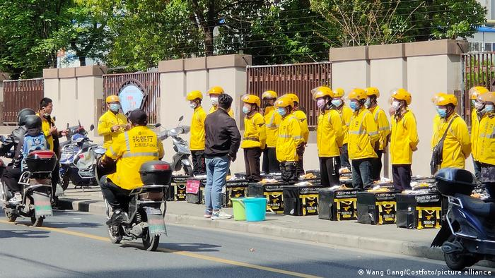 China Meituan Lieferdienst